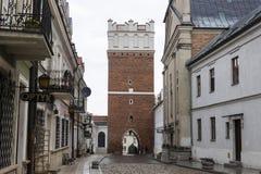 Sandomierz, Polonia Foto de archivo