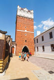 Sandomierz, Polonia Immagine Stock