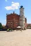 Sandomierz, Polonia Foto de archivo libre de regalías