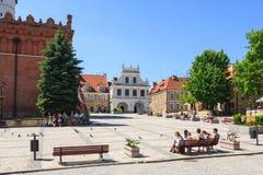 Sandomierz, Polonia Fotografia Stock