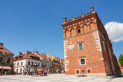 Sandomierz, Polonia - 23 maggio 2014 Fotografia Stock Libera da Diritti