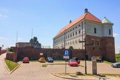 Sandomierz se conoce para su ciudad vieja, que es una atracción turística importante 23 DE MAYO DE 2014 Sandomierz, Imágenes de archivo libres de regalías