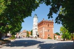 Sandomierz se conoce para su ciudad vieja, que es una atracción turística importante 23 DE MAYO DE 2014 Sandomierz, Fotos de archivo libres de regalías