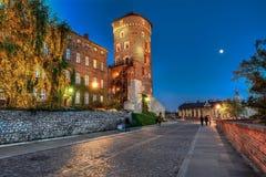 Sandomierz torn, Wawel kulle Royaltyfria Bilder