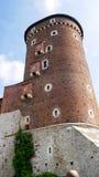 Sandomierz torn, Wawel slott, Polen Royaltyfria Bilder