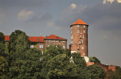 Sandomierz  tower in Wawel in Krakow. Poland Stock Images