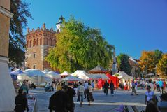 Sandomierz town, Poland Stock Photo