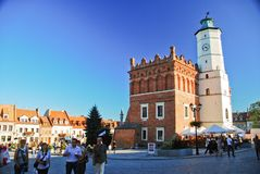 Sandomierz town, Poland Royalty Free Stock Photography