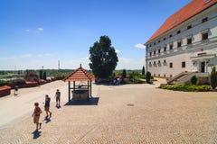 Sandomierz, vieille ville Photos stock