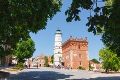 Sandomierz, vieille ville Image stock