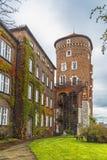 Sandomierz wierza kasztel na Wawel wzgórzu obrazy royalty free