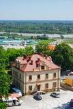 Sandomierz zna dla swój Starego miasteczka który jest ważnym atrakcją turystyczną, MAJ 23, 2014 Sandomierz, Fotografia Stock