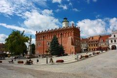 Sandomirstraten, Polen Royalty-vrije Stock Afbeelding