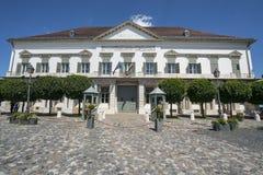 Sandor宫殿在布达佩斯 库存图片