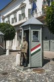 Sandor宫殿在布达佩斯 免版税库存照片