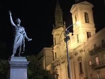 Sandor Petofi-standbeeld royalty-vrije stock afbeelding