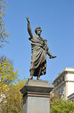 Sandor Petofi statue Stock Photos