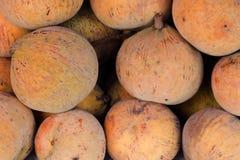 Sandoricum koetjape or Santol fruit. Background, in Thailand Stock Photo