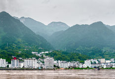 Sandouping widok miasto zdjęcie stock
