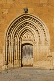 Sandoval Monastery Gate. Leon. Spain Stock Photo