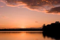sandoval nad jezioro. zdjęcie royalty free
