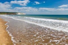Sandown怀特岛郡英国英国 免版税库存照片