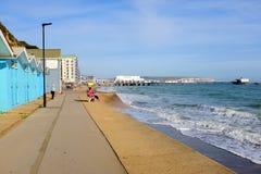 Sandown bay, Isle of Wight. Royalty Free Stock Photo