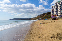 Sandown Isle Of Wight England UK. Sandown Beach on the Isle Of Wight England UK Europe Stock Photography