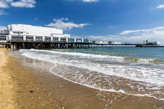Sandown Isle Of Wight England UK. Sandown Beach on the Isle Of Wight England UK Europe Royalty Free Stock Image