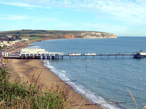 Sandown, Isle of Wight, UK. Stock Photos