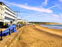 Sandown in October, Isle of Wight. Royalty Free Stock Photography