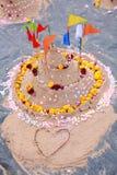 Sandpagod Royaltyfri Bild