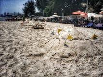 Sandpagode Stockbild