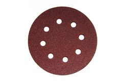 Sandpaper with holes Royalty Free Stock Photos