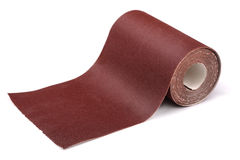 Sandpaper roll royalty free stock photo