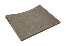 Sandpaper Sheets Stacked Stock Photos