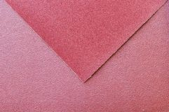 Sandpaper surface Stock Photography
