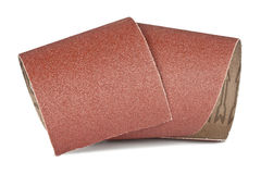 Sandpaper for your woodwork. Brown sandpaper for your woodwork royalty free stock photo