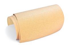 Sandpapier für Holz. Lizenzfreies Stockfoto
