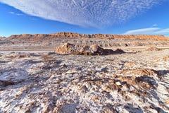 Sandpappra och vaggar, salt Royaltyfri Fotografi