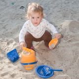 Sandpit Stock Photography