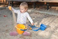 Sandpit Stock Image