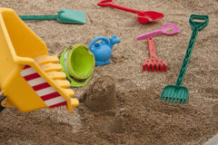 Sandpit Royalty Free Stock Photography