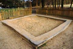 Sandpit Imagenes de archivo
