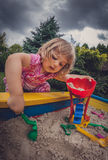 Sandpit fun Royalty Free Stock Photos