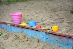 Sandpit. Royalty Free Stock Photos