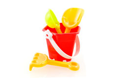 Sandpit toys Stock Images