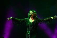 Sandra Ann Lauer Concert Royaltyfria Foton