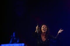 Sandra Ann Lauer Concert Arkivbild