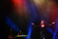 Sandra Ann Lauer Concert Royaltyfri Foto